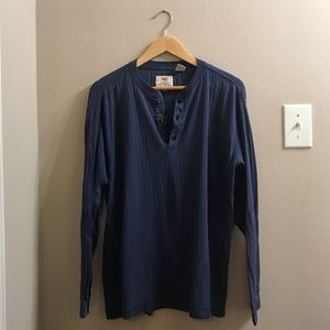 Vintage Levi's Henley shirt